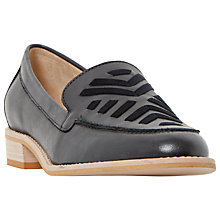 Buy Dune Geniva Block Heeled Loafers Online at johnlewis.com