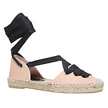 Buy Kurt Geiger Pine Tie Up Two Part Espadrilles Online at johnlewis.com