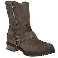 Buy Clarks Faralyn Rise Biker Boots Online at johnlewis.com