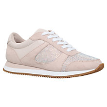Buy Carvela Mega Lace Up Trainers, Nude Online at johnlewis.com