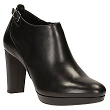 Buy Clarks Kendra Spice Shoe Boots, Black Online at johnlewis.com