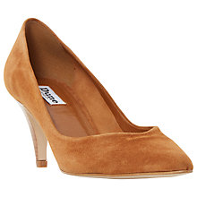 Buy Dune Adelaid Pointed Toe Court Shoes, Tan Online at johnlewis.com