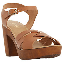 Buy Dune Jani Block Heeled Sandals Online at johnlewis.com