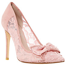 Buy Dune Bodine Bow Stiletto Court Shoes Online at johnlewis.com
