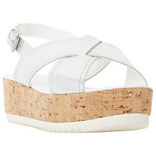 Buy Dune Kraft Platform Wedge Sandals Online at johnlewis.com