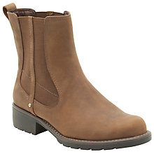 Buy Clarks Orinoco Club Ankle Boots, Brown Online at johnlewis.com