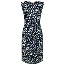 Buy Precis Petite Resort Floral Dress, Blue Online at johnlewis.com