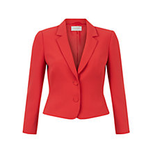 Buy Hobbs Marielle Jacket, Pink Grapefruit Online at johnlewis.com