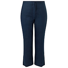 Buy Precis Petite Linen Drawstring Trousers Online at johnlewis.com