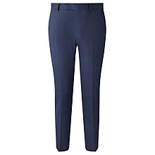 Buy Richard James Mayfair Prince of Wales Check Slim Fit Suit Trousers, Blue Online at johnlewis.com
