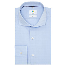 Buy Richard James Mayfair Flower Dobby Shirt, Sky Blue Online at johnlewis.com