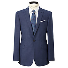 Buy Richard James Mayfair Prince of Wales Check Slim Fit Suit Jacket, Blue Online at johnlewis.com