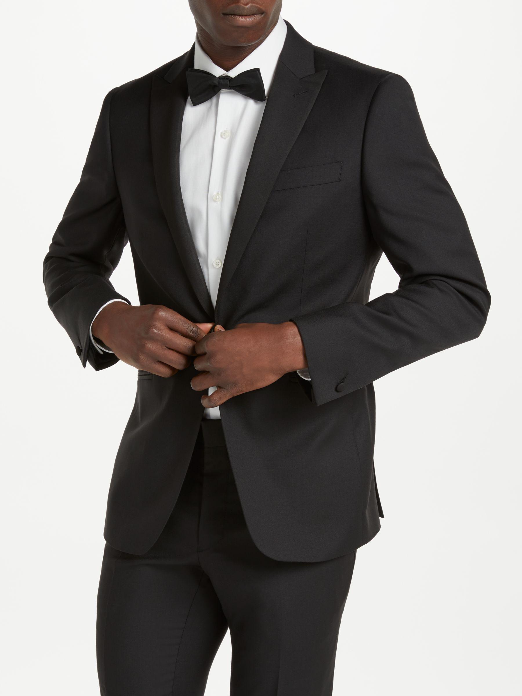 Richard James Mayfair Richard James Mayfair Hopsack Wool Dress Suit Jacket, Black
