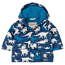 Buy Hatley Baby Dino Raincoat, Blue Online at johnlewis.com