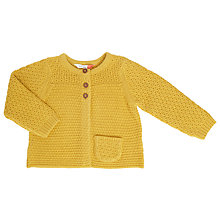 Buy John Lewis Baby Knitted Cardigan Online at johnlewis.com