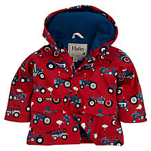Buy Hatley Baby Farm Tractor Raincoat, Red Online at johnlewis.com