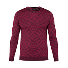Buy Ted Baker T for Tall Jaktt Jumper, Deep Pink Online at johnlewis.com