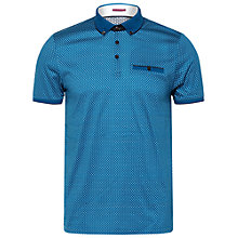 Buy Ted Baker T for Tall Jaziettt Polo Shirt, Teal Online at johnlewis.com