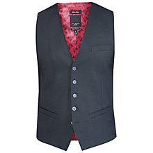 Buy Ted Baker T for Tall Waitt Mini Design Waistcoat, Navy Online at johnlewis.com