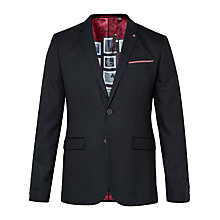 Buy Ted Baker T for Tall Baytt Mini Design Jacket, Navy Online at johnlewis.com