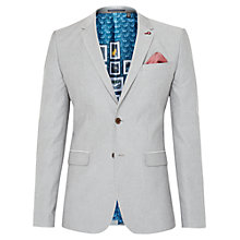 Buy Ted Baker T for Tall Bandtt Blazer Jacket, Grey Online at johnlewis.com