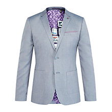 Buy Ted Baker T for Tall Heartt Mini Design Jacket, Blue Online at johnlewis.com