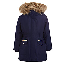 Buy John Lewis Girls' Parka Coat Online at johnlewis.com