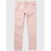 Buy Jigsaw Girls' Denim Jeans, Pale Pink Online at johnlewis.com