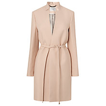 Buy L.K. Bennett Violet Coat, Pastel Peach Online at johnlewis.com