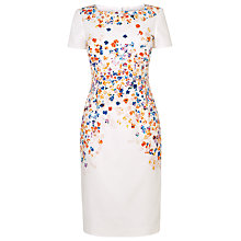 Buy L.K. Bennett Rania Floral Dress, Red Online at johnlewis.com