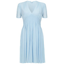 Buy Ghost Anabel Dress, Powder Blue Online at johnlewis.com