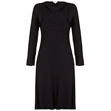 Buy Ghost Elisa Dress, Black Online at johnlewis.com
