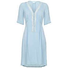 Buy Ghost Anya Dress, Powder Blue Online at johnlewis.com