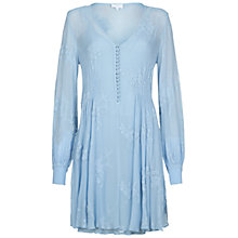 Buy Ghost Kerry Dress, Powder Blue Online at johnlewis.com
