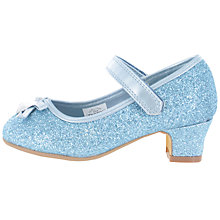 Buy Frozen Children's Mary Jane Sparkling Party Shoes, Blue Online at johnlewis.com