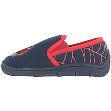 Buy Spiderman Baby Soft Slippers, Navy/Red Online at johnlewis.com
