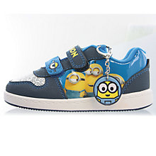 Buy Minions Children's Morton Shoes, Blue Online at johnlewis.com