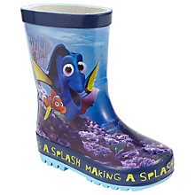 Buy Finding Nemo Children's Wellington Boots, Blue Online at johnlewis.com