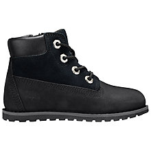 Buy Timberland Children's Pokey Pine Boots, Black Online at johnlewis.com