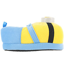 Buy Minions Children's 3D Slippers, Yellow Online at johnlewis.com