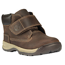 Buy Timberland Children's Timber Tykes Riptape Boots, Brown Online at johnlewis.com