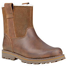 Buy Timberland Children's Asphalt Chestnut Ridge Boots, Light Brown Online at johnlewis.com