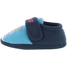 Buy Thomas The Tank Engine Baby Soft Strap Slippers, Navy Online at johnlewis.com