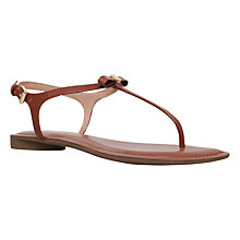 Buy MICHAEL Michael Kors Josie Toe Post Sandals Online at johnlewis.com