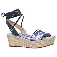 Buy MICHAEL Michael Kors Margie Flatform Sandals, Blue/Other Online at johnlewis.com