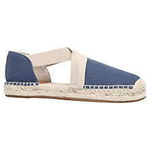 Buy MICHAEL Michael Kors Dana Cross Strap Espadrilles Online at johnlewis.com