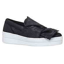 Buy Kurt Geiger Laira Flatform Slip On Trainers Online at johnlewis.com