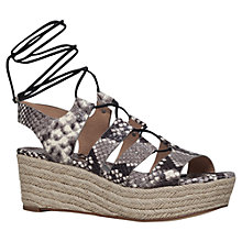 Buy MICHAEL Michael Kors Sofia Flatform Sandals Online at johnlewis.com