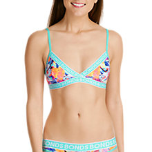Buy Bonds New Era Triangle Crop Bra, Costal Floral Online at johnlewis.com