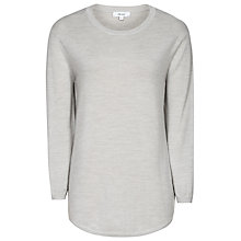 Buy Reiss Virgo Knit Jumper, Light Grey Online at johnlewis.com
